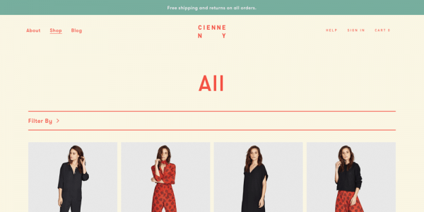 Ethical & Sustainable - Contemporary Clothing | Cienne NY | Shop | Cienne NY