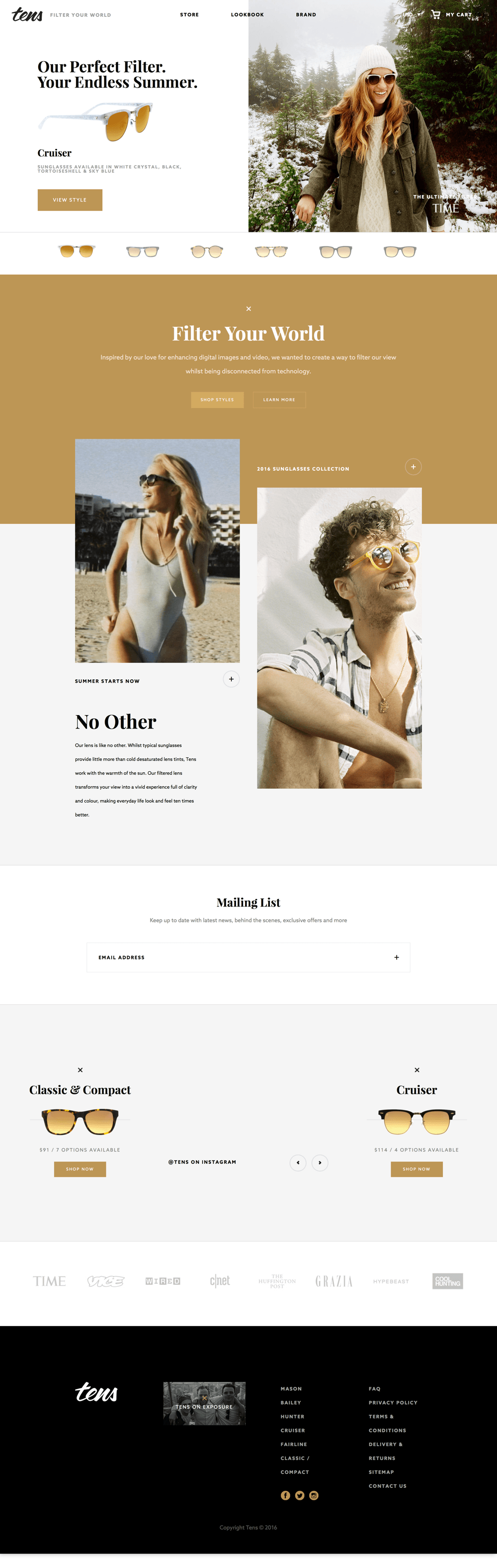Tens Sunglasses: Filter Your World