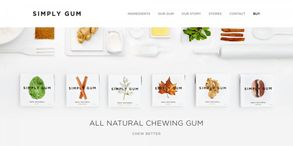 Simply Gum - All Natural Chewing Gum