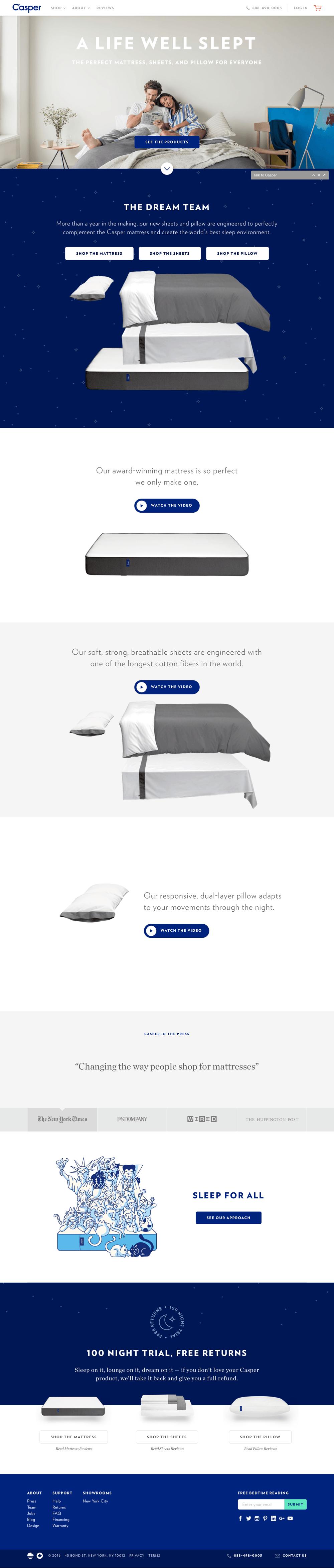 The Best Bed for Better Sleep | Casper®