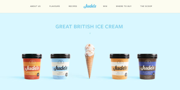 Home | Jude's Ice Cream