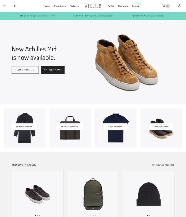 Atelier | Premium WordPress Theme