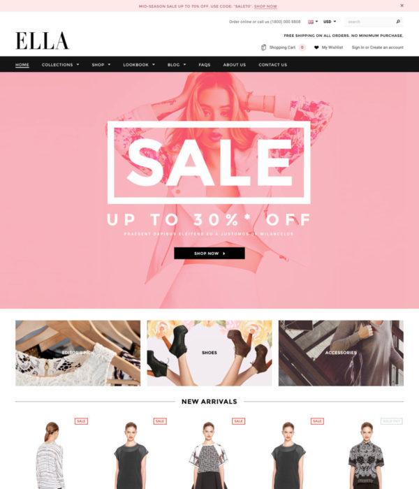 Ella Shopify Theme