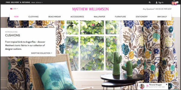 Matthew Williamson - Official Online Store