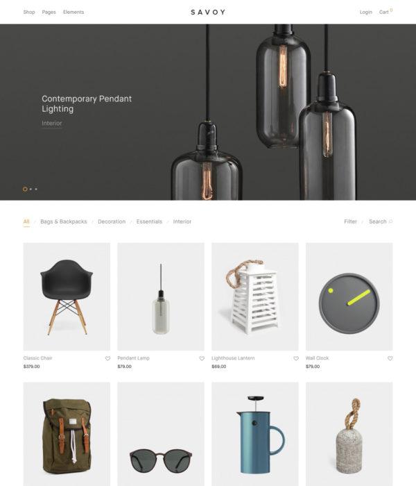 Savoy – Premium Shop Theme for WooCommerce