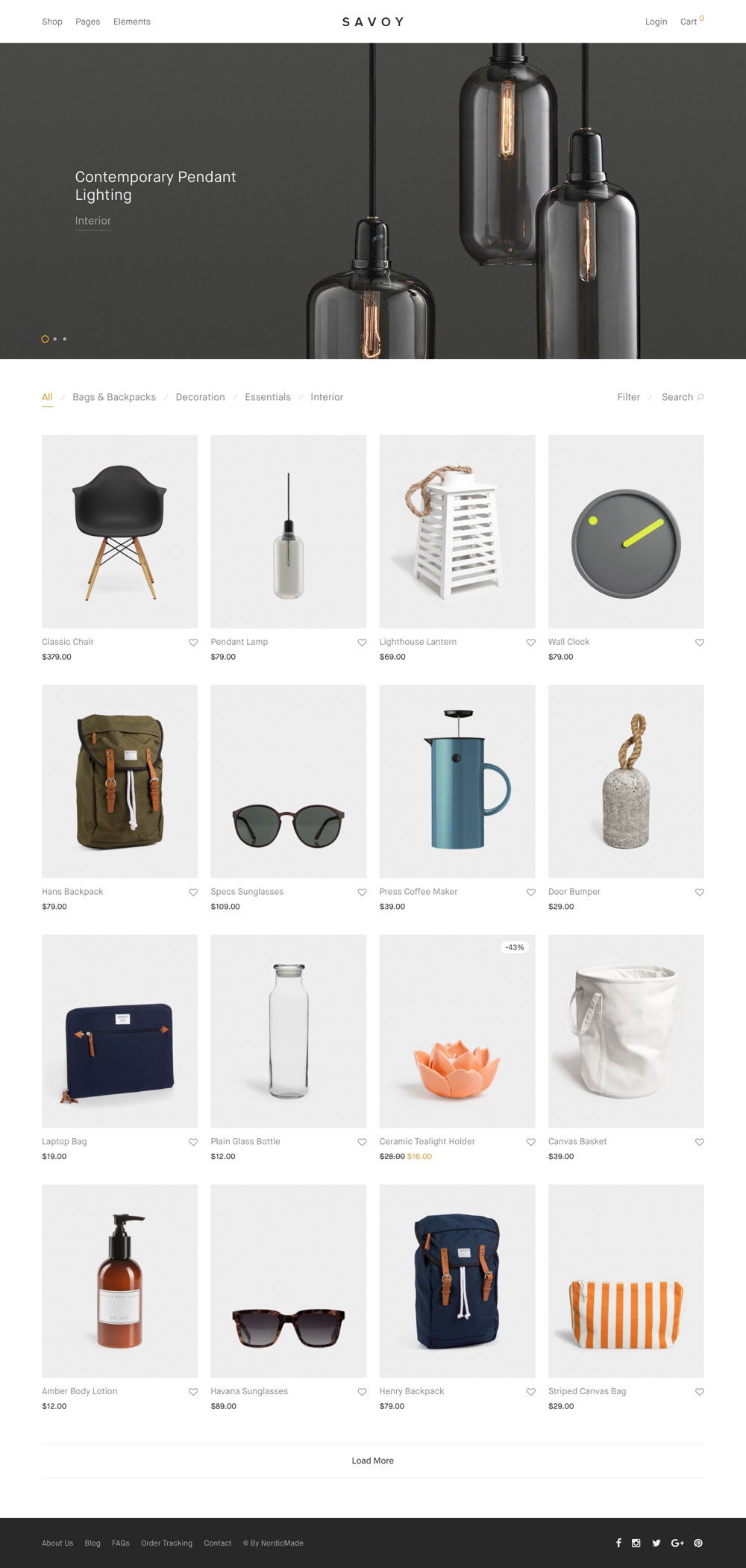 Savoy – Premium Shop Theme for WooCommerce