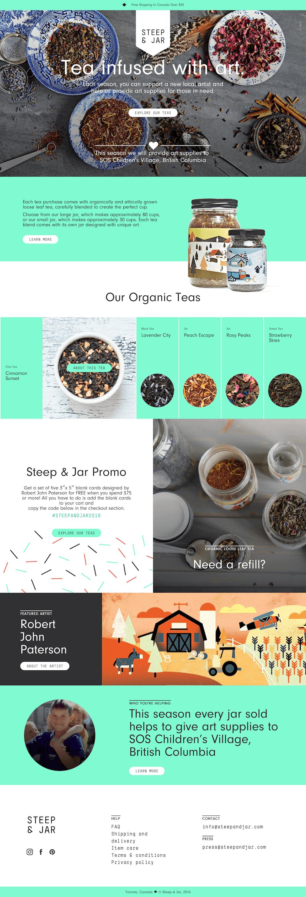 Steep & Jar